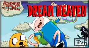 Adventure Time: correndo pelo telhado