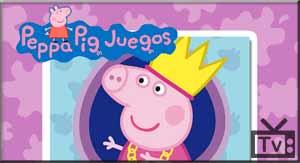 Jogo infantil com a personagem Peppa Pig da série exibida pelo Discovery  Kids.