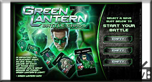 Green Lantern: Battle Cards