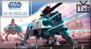 Star Wars Games: The Clone Wars AT-TE Rescue